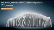 VW divulga teaser do NMS - Novo sedan será apresentado no dia 10