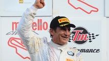 Le vainqueur #50 BMW Team Italia BMW M6 GT3: Alex Zanardi