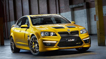 HSV testing a supercharged V8 engine - report