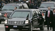 Cadillac DTS Limousine at 2005 inauguration
