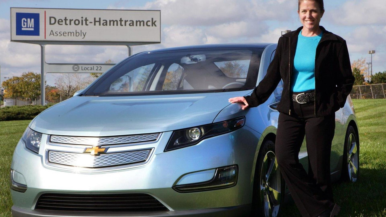 2011 Chevrolet Volt, Plant Manager Teri Quigley, GM Detroit-Hamtramck Assembly Plant, Michigan, 30.07.2010