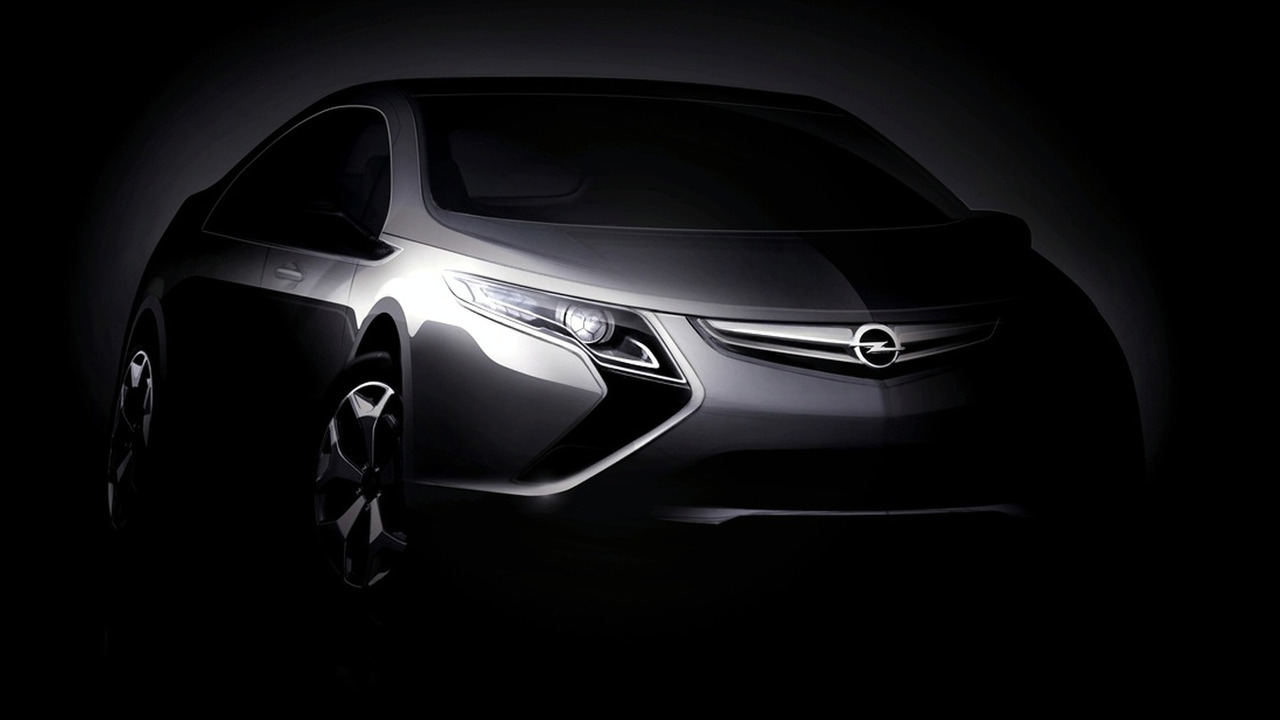 Opel Ampera Electric Vehicle