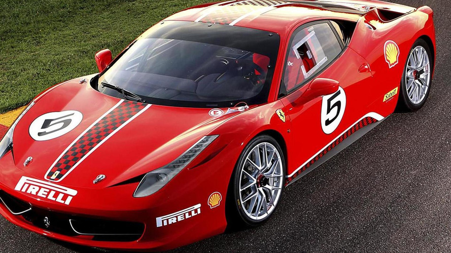 Ferrari 458 Challenge REVEALED - debuts at Maranello