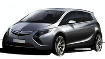 2011 Opel Zafira Sketch