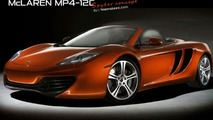 McLaren reportedly working on MP4-12C Spider