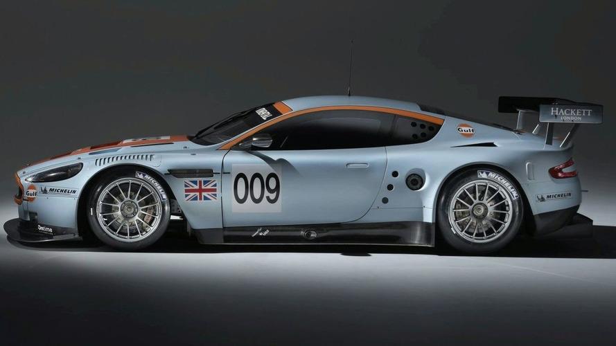 Aston Martin DBR9 in Gulf Livery