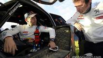 #314 Peugeot: Sèbastien Loeb with Bruno Famin, head of Peugeot Sport