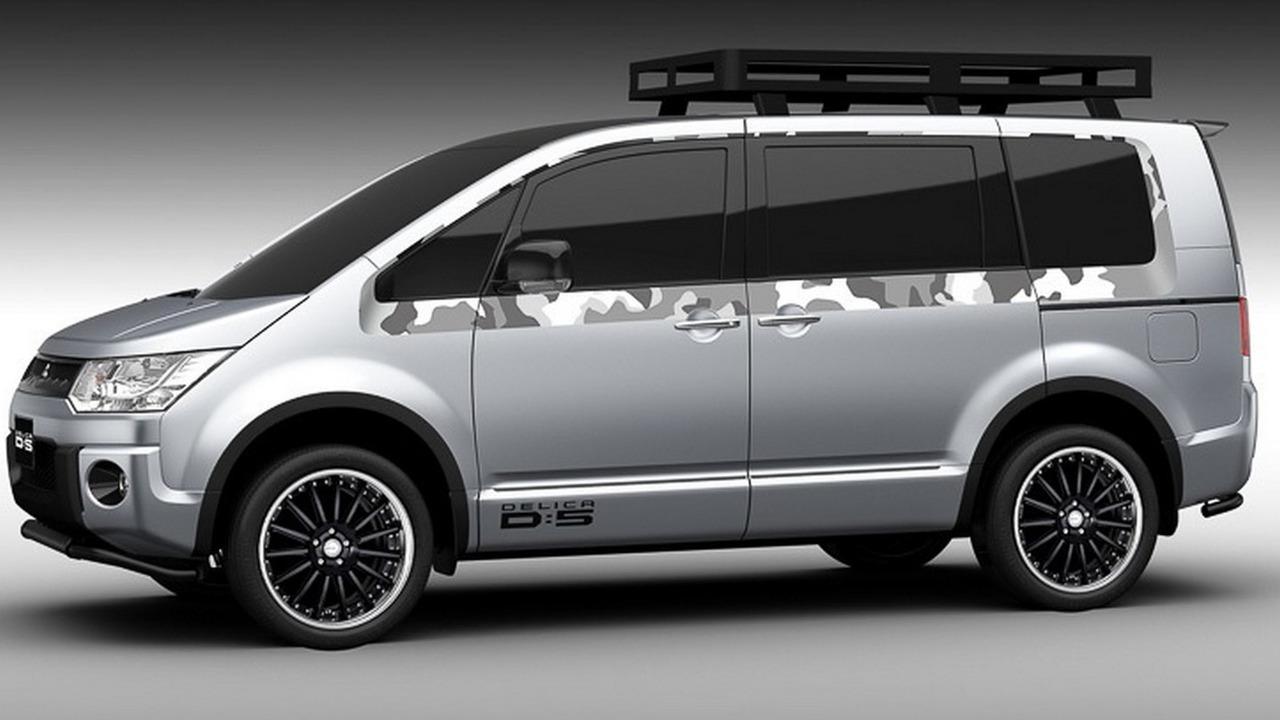 Mitsubishi Delica D5 Active Camper Concept