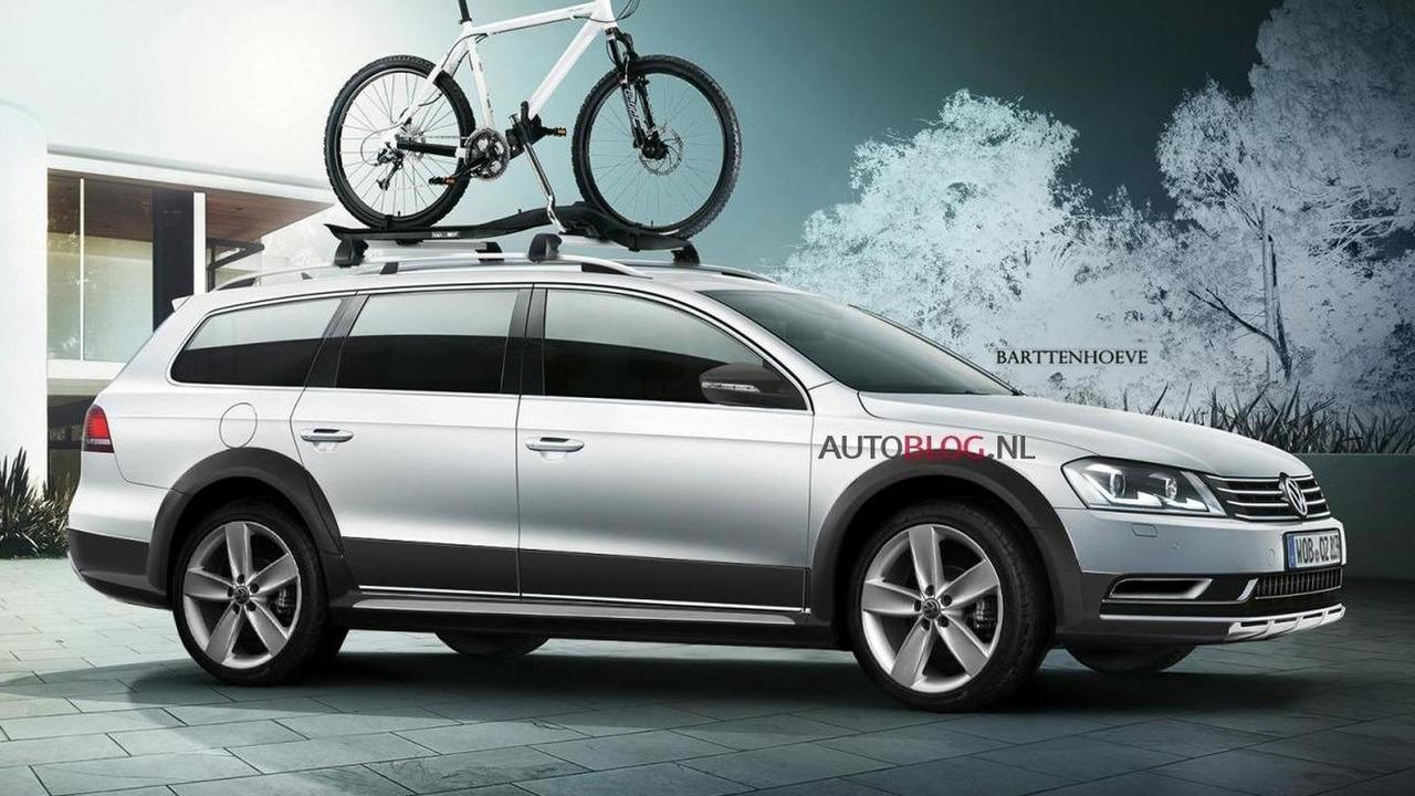 2012 Volkswagen CrossPassat leaked - 15.7.2011
