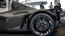 BAC constructs Mono's rear wheel arches out of graphene, a world first