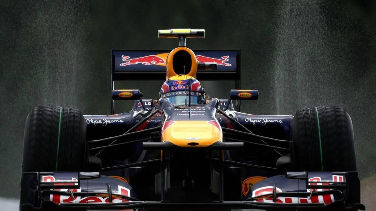Mark Webber (AUS), Red Bull Racing - Formula 1 World Championship, Rd 13, Belgium Grand Prix, Friday Practice, 27.08.2010 Spa, Belgium