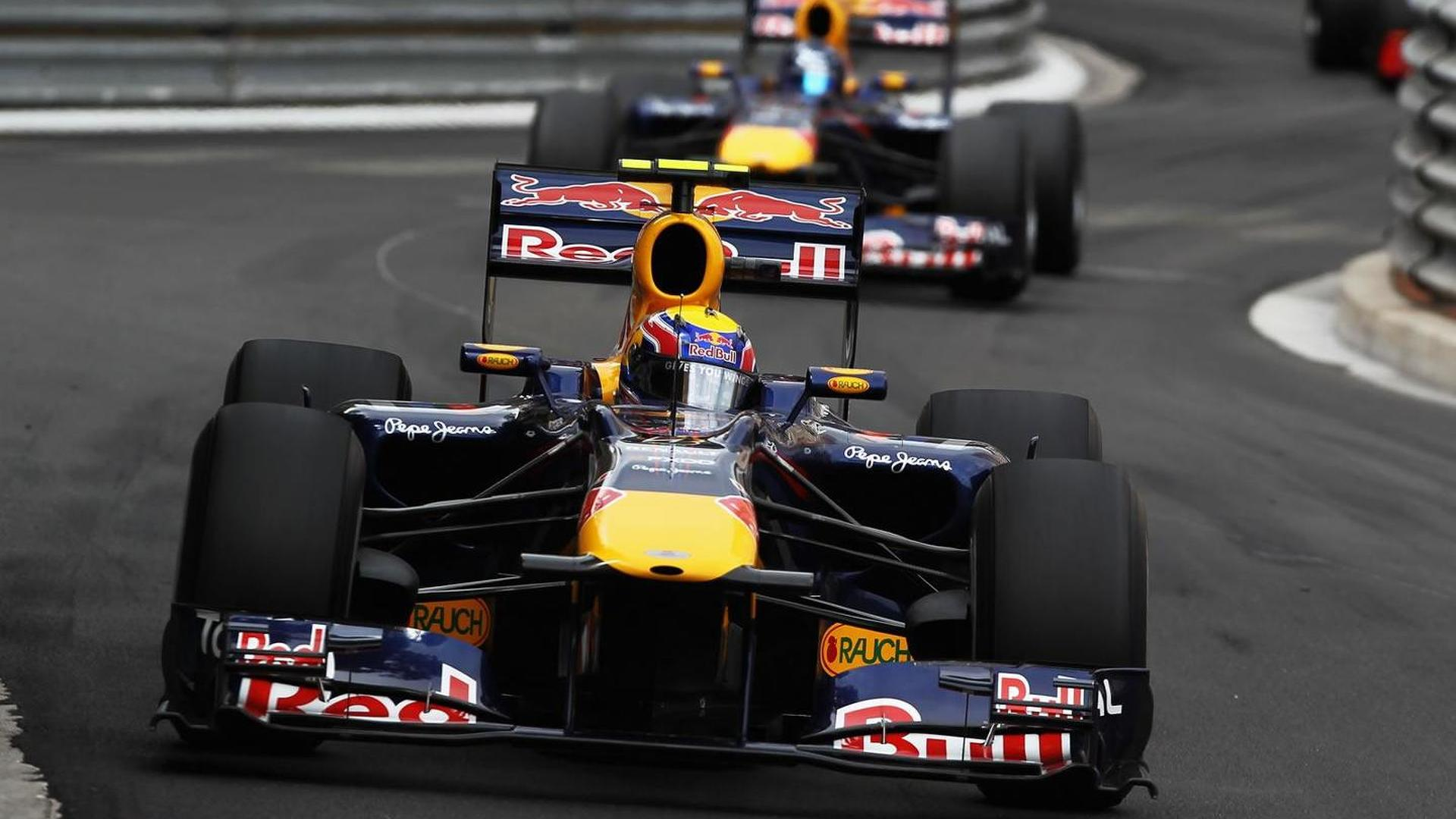 Red Bull has led 67pc of laps in 2011
