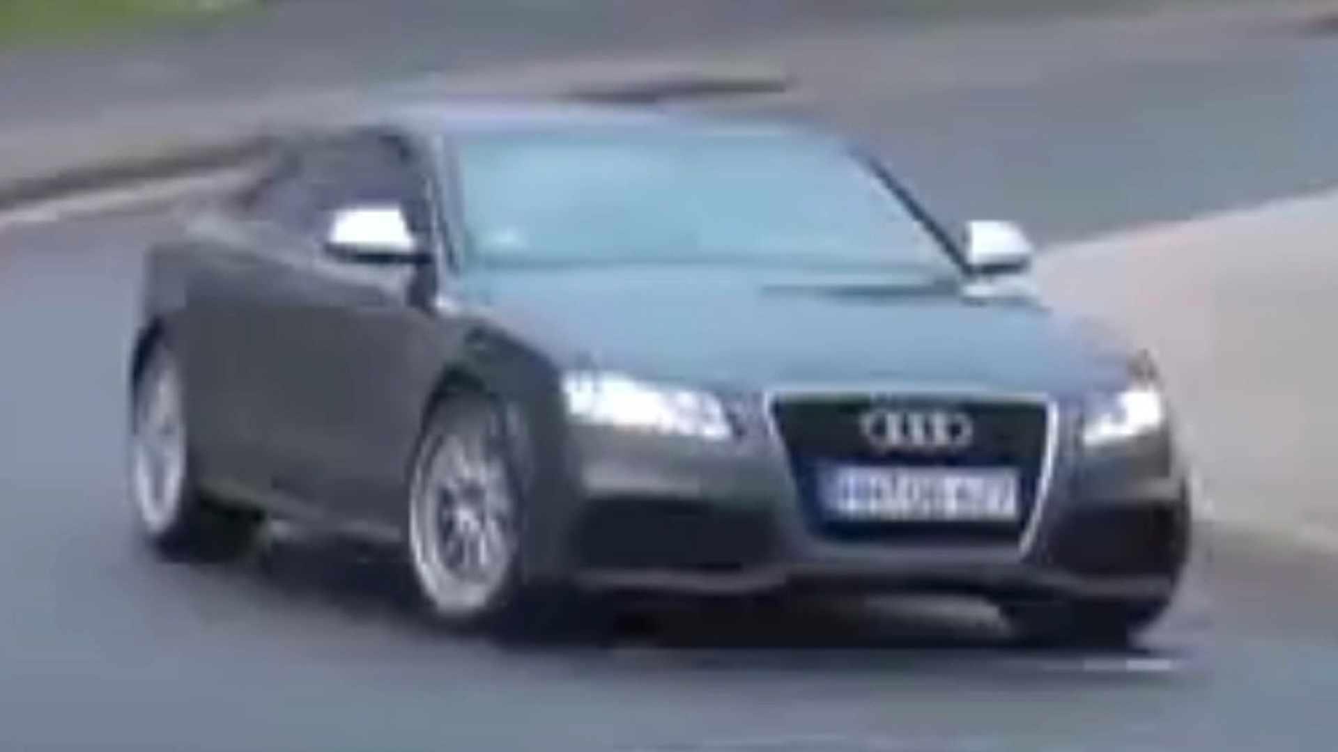 Spy Video: Audi RS5 Caught Undisguised at Nurburgring