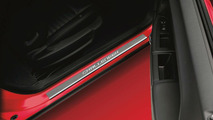 Stainless steel Dodge Challenger sill covers