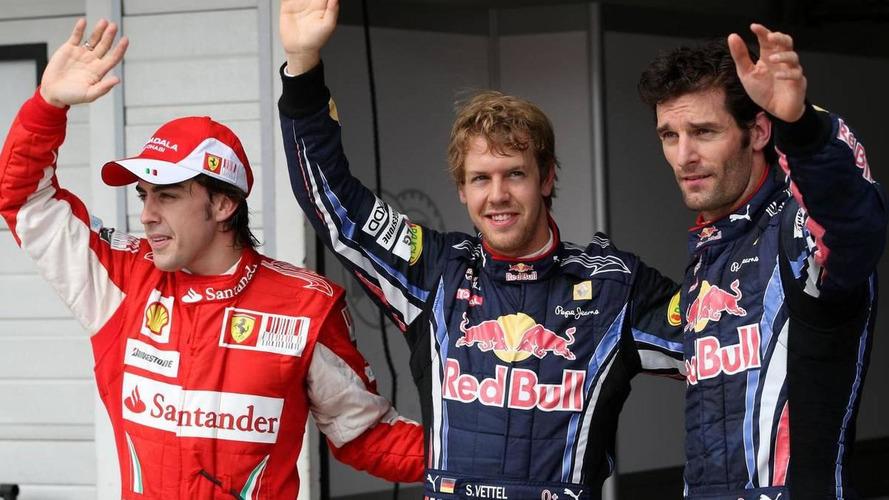 2010 Hungarian Grand Prix - QUALIFYING RESULTS