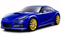 Subaru FT-86 coupe underpinned by Legacy platform