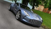Aston Martin One-77 down to last unsold unit