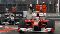 Alonso was racing on last Monaco lap - Schumacher