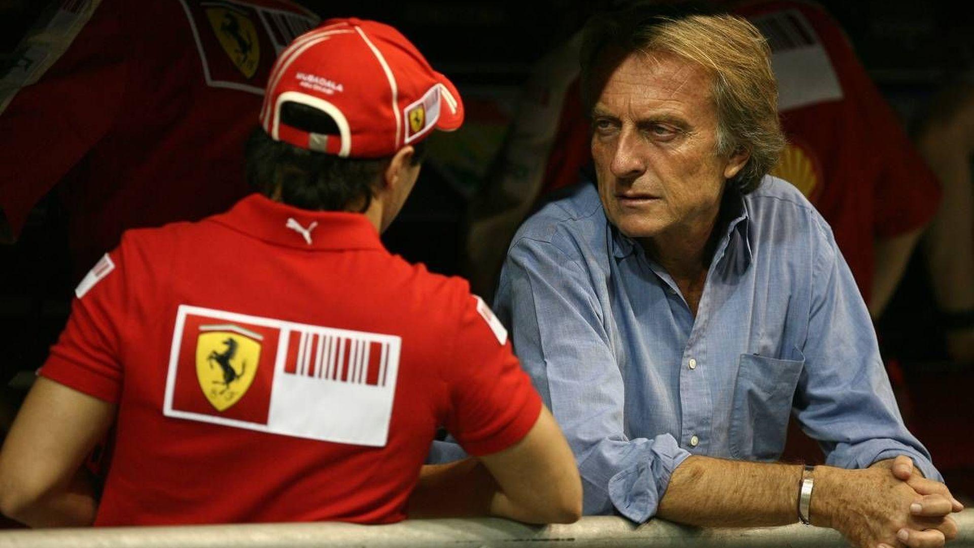 Montezemolo not willing to discuss Massa's contract