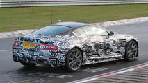 Aston Martin DBS facelift spied at Nürburgring