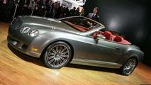 Bentley Continental GTC Speed at 2009 NAIAS