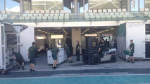 Caterham 'busy' setting up in Abu Dhabi