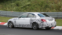 2016 Mercedes E63 AMG mule spied on the Nurburgring