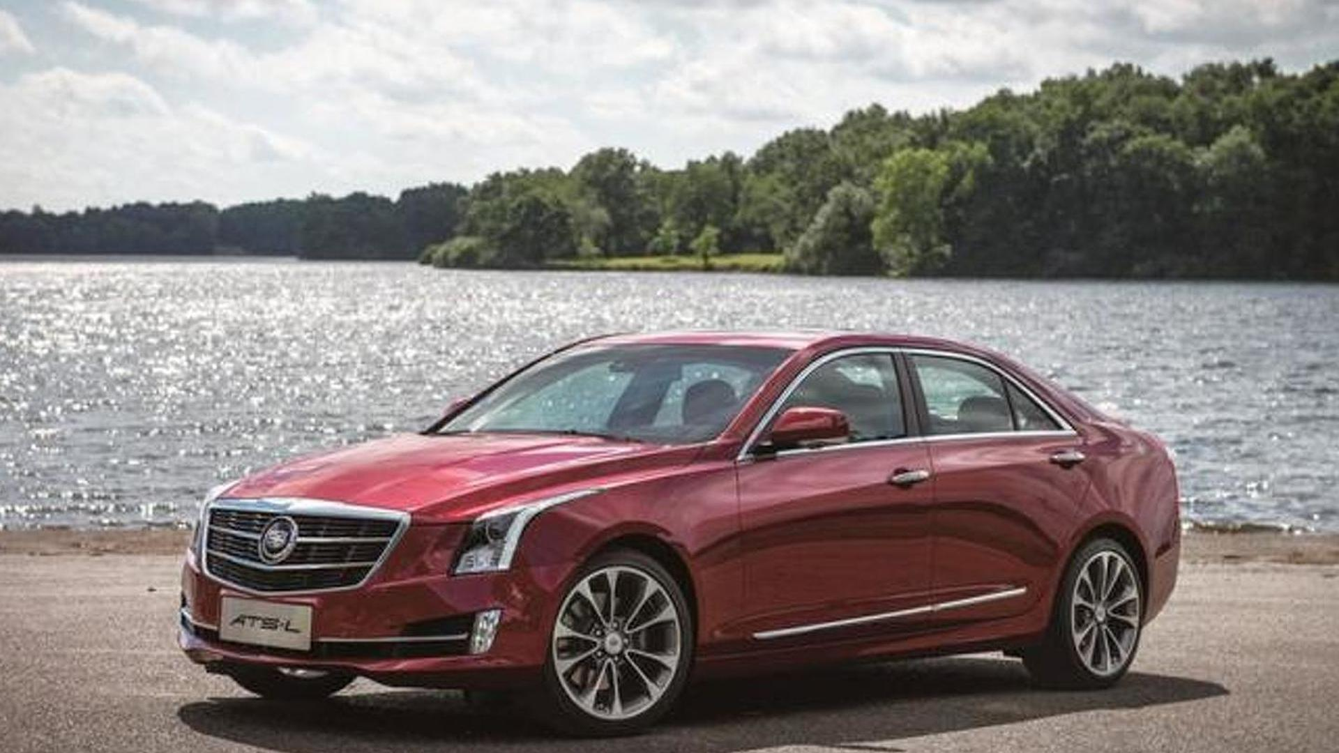 China-only Cadillac ATS-L first official images released