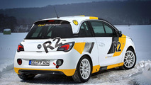 Opel Adam R2 Rally Car Concept 04.2.2013