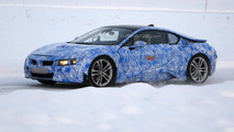 BMW i8 spied during winter testing