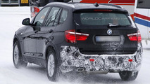 2013 BMW X3 facelift spied once again