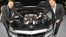 Mercedes CLS 63 AMG Shooting Brake public debut at Hockenheim