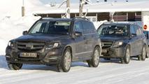 2012 Mercedes GLK spy photo 09.2.2012