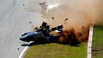 Nissan DeltaWing crash