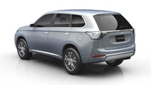 Mitsubishi Outlander plug-in hybrid due in 2013