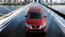 Production-version Nissan Pathfinder revealed on Facebook