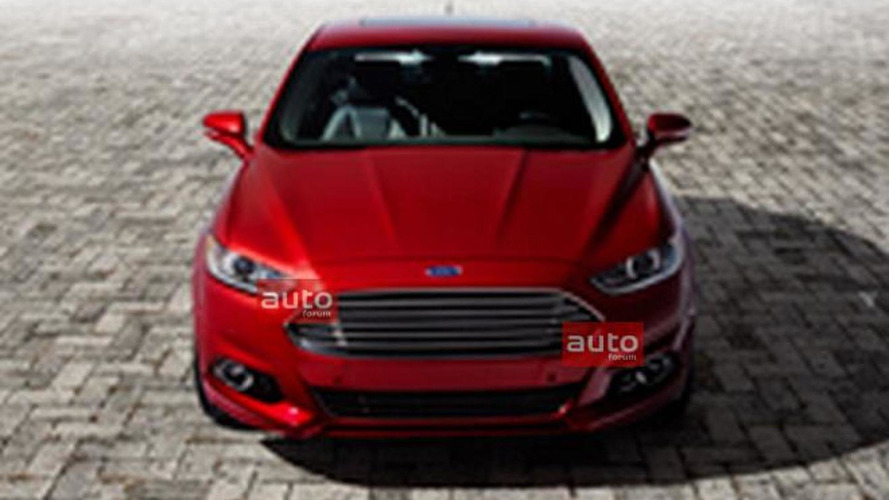2013 Ford Fusion leaked