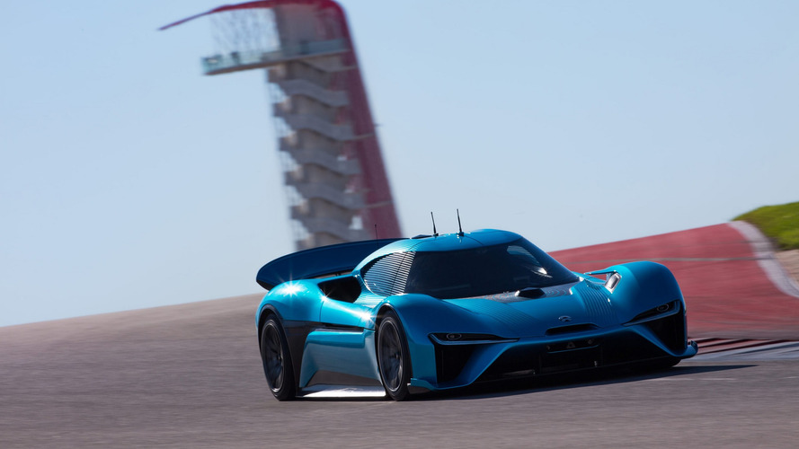 Discover how the Nio EP9 set autonomous car lap record at COTA