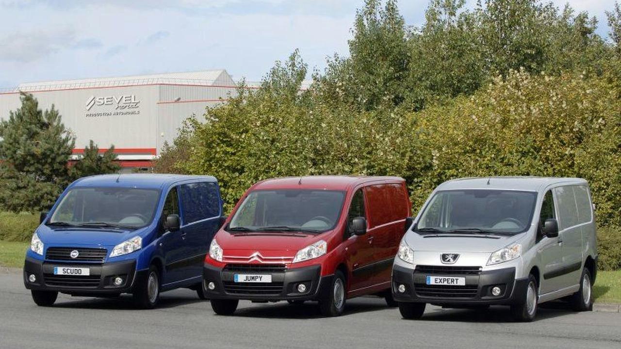 Peugeot Expert, Citroën Dispatch and Fiat Scudo