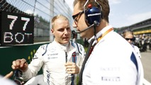 Valtteri Bottas, Williams Martini Racing, with Jonathan Eddolls, Race Engineer