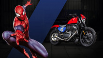 Check out these 25 Marvel superhero-themed motorcycles from Harley-Davidson