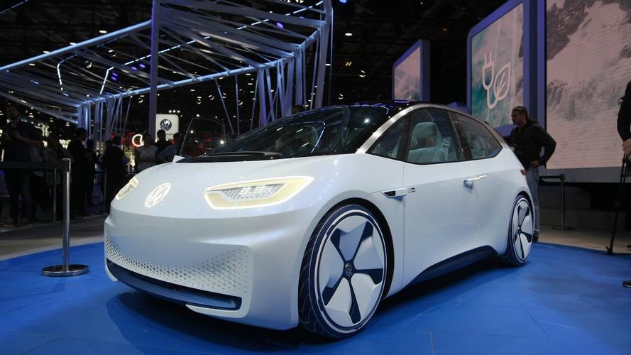 Volkswagen I.D konseptinin fuar görüntüleri