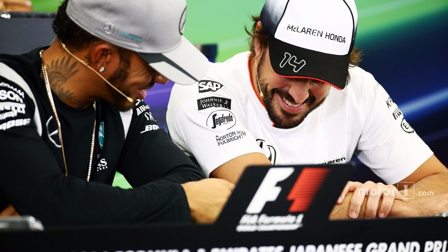 Hamilton defends 'fun' behaviour during FIA press conference