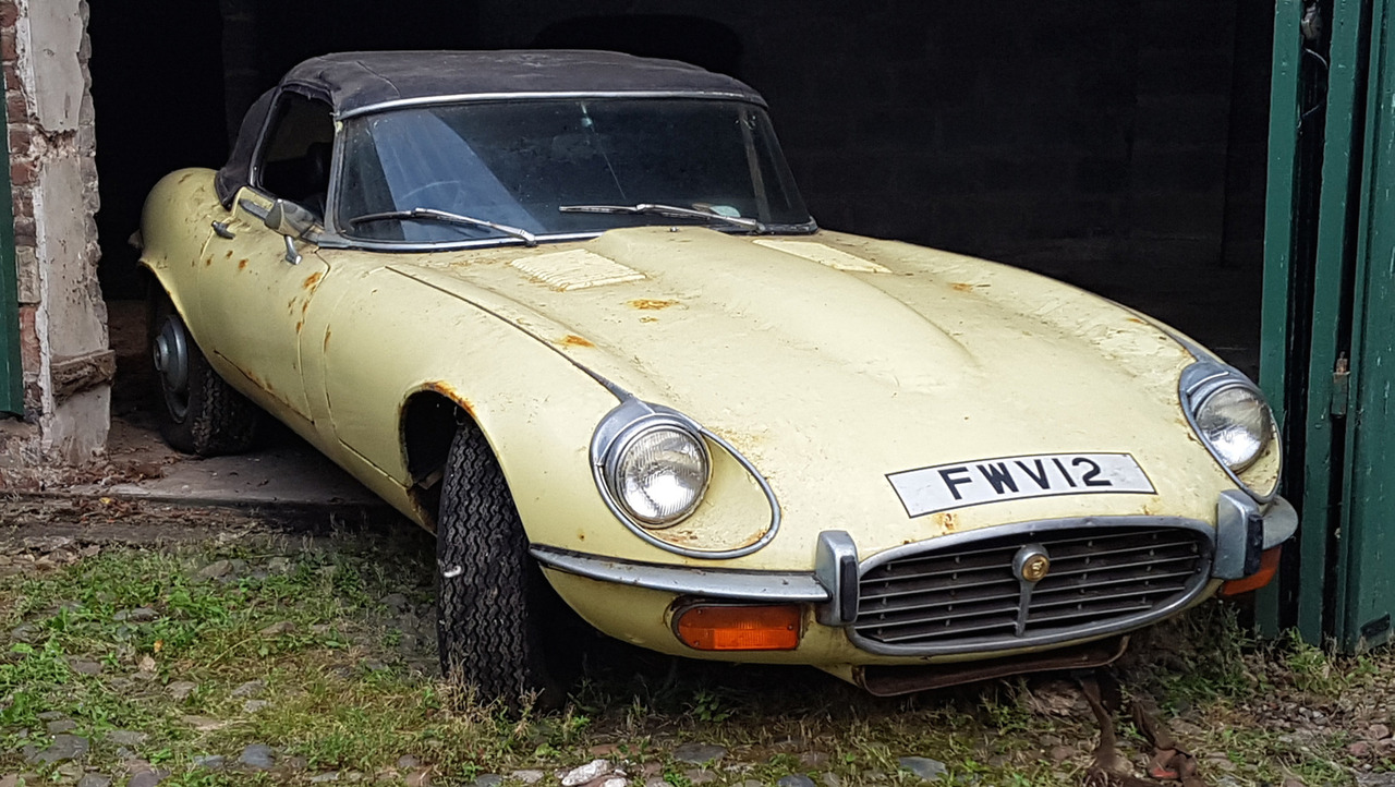 1972 Jaguar E-Type Barn Find