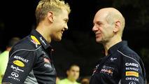 Absent Newey would miss Vettel's title win in Japan