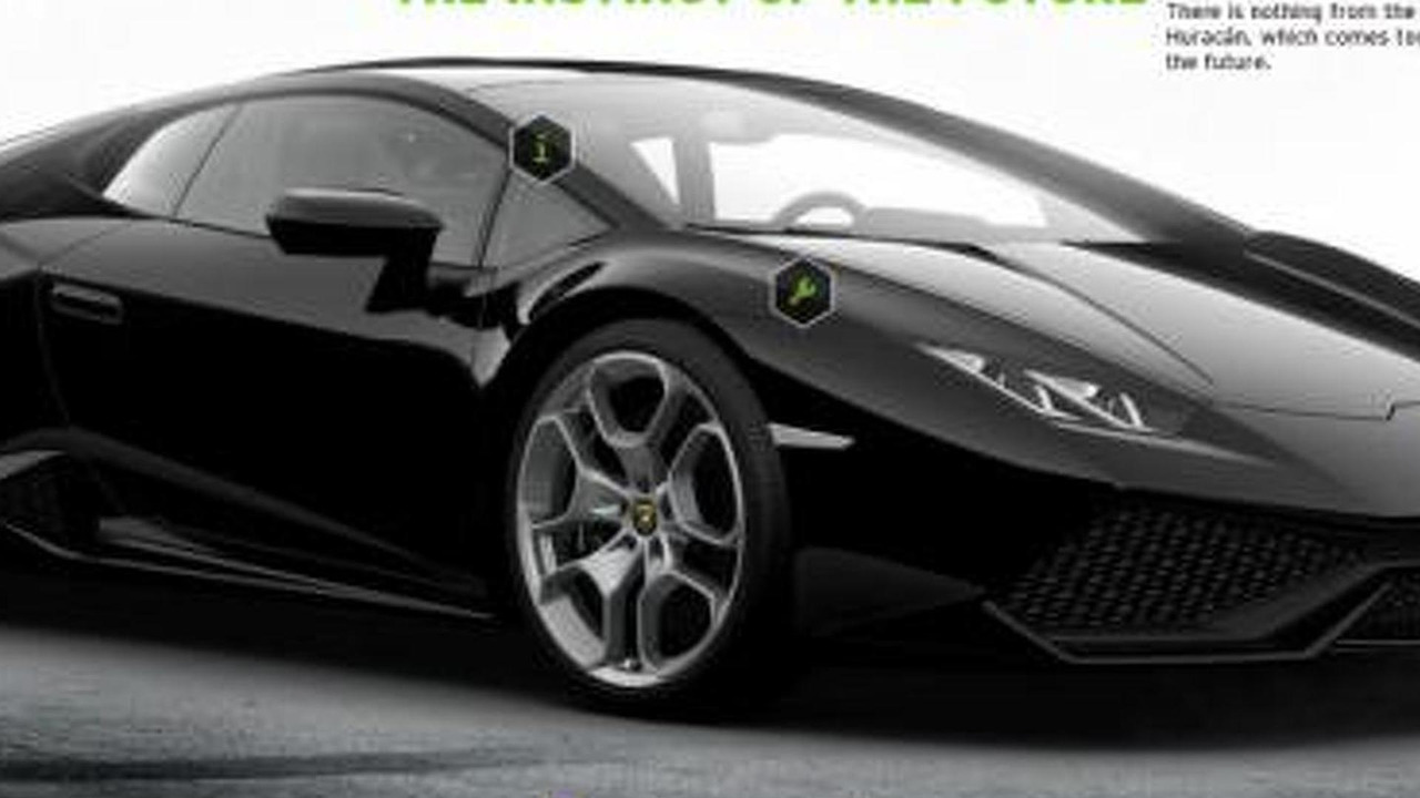 lamborghini huracan configurator up and running. Black Bedroom Furniture Sets. Home Design Ideas