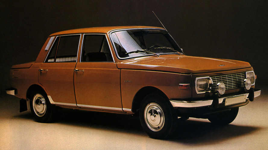 Soviet Bloc Cars Were Weird: Wartburg 353