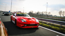 Ferrari 550 Maranello Le Mans GTS caught on camera [video]