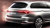 2016 Fiat Tipo SW teaser