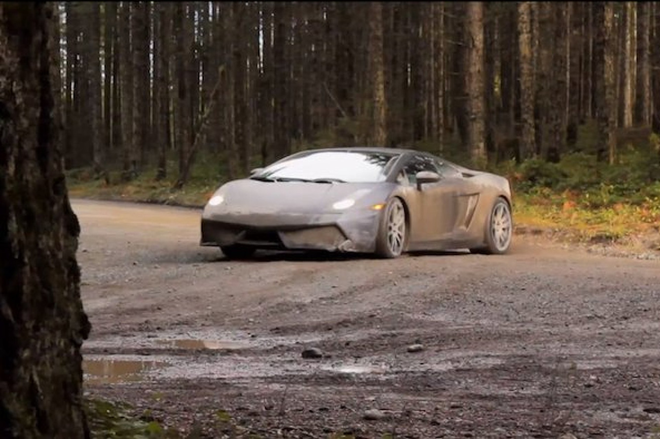 Video: Lambo Driver Turns Gallardo into WRC Car